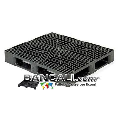 BANCALE PERIMETRALE 100x120 ROBUSTO GRIGLIATO SLITTE su tutti i 4 lati, per portate consistenti.