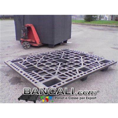 BANCALE in PLASTICA 110x130cm per EXPORT   9  Piedi  Inseribile,  Grigliato in Plastica per Portate Leggere.  Kg. 8