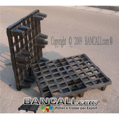 Bancale in Plastica 800x800 mm inseribile Kg. 4