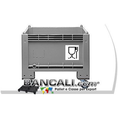 Box Cassa con Ruote 300 Litri IGIENICA 70x100 h.80cm
