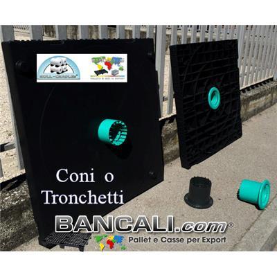 Cono Plug Tronchetto Mandrino per Flangia per Bobine