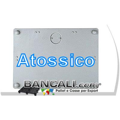 Coperchio Cargo Pallet 80x147 Lit. Combinato per Uso Igienico; Peso Tara 5 Kg.