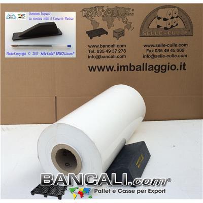 Cunei Cuneo in Plastica 200 mm. Zeppa Universale con 2 Gommini antiscivolo, per Bloccare le Bobine o Cilindri in genere. Peso Tara 500 gr.