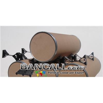 Distanziatore o Separatore in Plastica Porta Bobine avente forma  di Selle Culle Contrapposte come