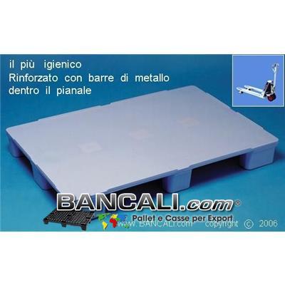 EuroPALLET Haccp igienico Atossico 80x120 RINFORZATO Piedi 9