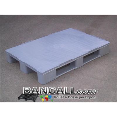 EuroPallet Igienico Pianale Chiuso 80x120 Robusto x Scaffale