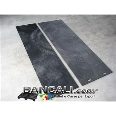 Lastra in Polipropilene 750x750 h.10 mm. Riciclata molto Robusta e Resistente idonea per  lavori pesanti Peso Tara 6 Kg.