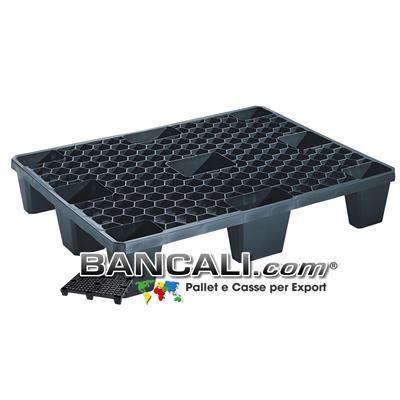 MiniPallet in Plastica 600x800 EXPORT-PALLET® Inseribile Grigliato, Leggero AirPALLET®  Peso Tara 3 Kg.
