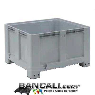 PALLET BOX Cassone Rettang. 100x120 h.76cm  Pareti Chiuse
