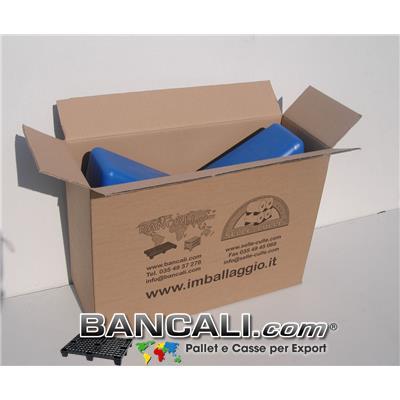 Scatolone in Cartone come imballo per spedire le selle-culle in plastica e altri accessori.