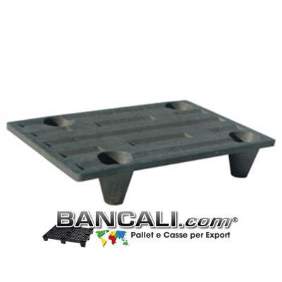 microPALLET per Export 400x600 prodotto con Mix di plastiche asimmetrico 4 piedi inNESTabili  Confezione da 200 Pz.